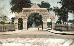 Entrance To Bay View & N.Y. Bay Cemeteries