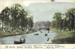 Grand Canal, Belle Isle Park