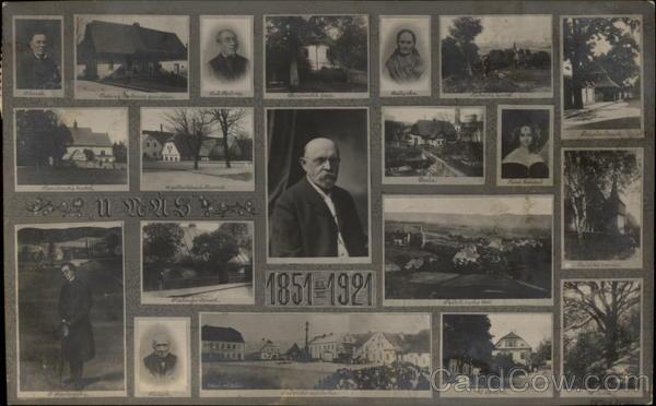 Men of 1851-1921 Czech Republic Eastern Europe