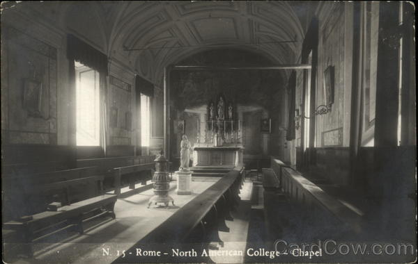 North American College - Chapel Rome Italy
