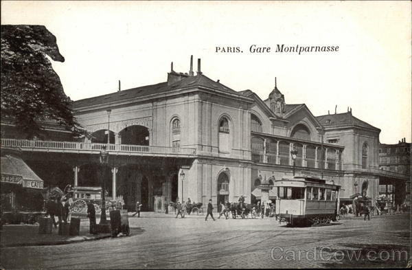 Gare Montparnasse Paris France