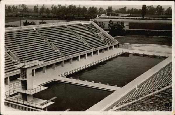Olympic Swimming Pool Berlin Germany