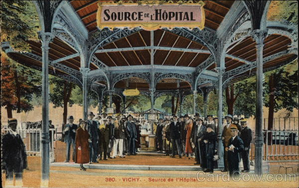Source de l'Hopital Vichy France