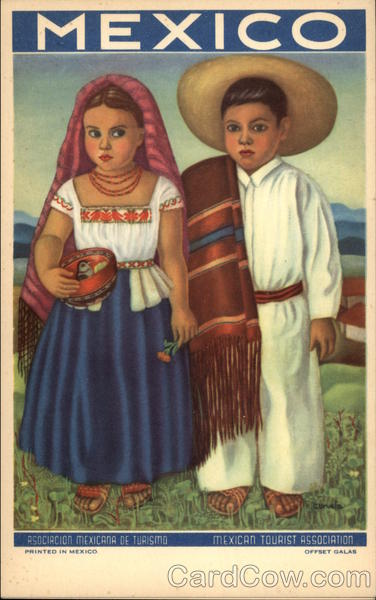 Children in Mexican Dress Mexico