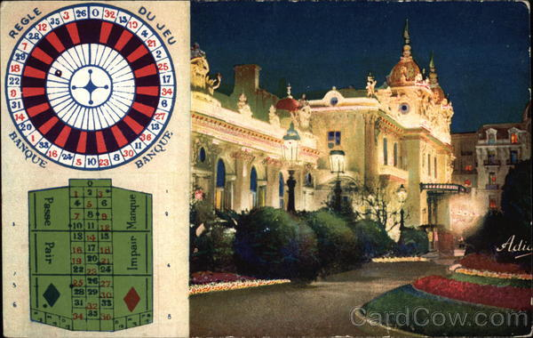 Casino and Roulette Monte Carlo Monaco