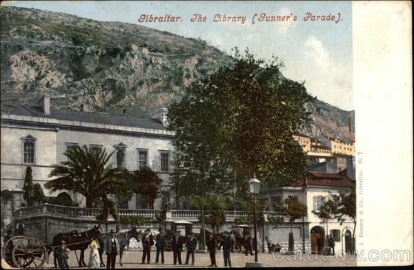 The Library, Gunner's Parade Gibraltar Spain, Portugal