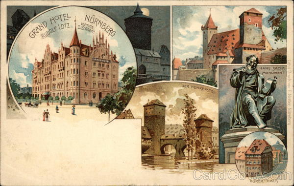 Grand Hotel Nuremburg and Other Views Germany