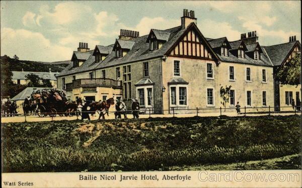 Bailie Nicol Jarvie Hotel Aberfoyle Scotland