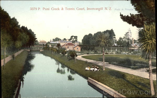 3379 P. Puni Creek & Tennis Court Invercargill New Zealand