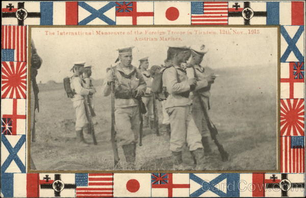International Manoeuvre of Foreign Troops - Austrian Marines