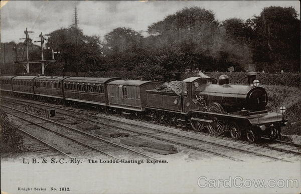 L.B. & S.C. Railway - The London-Hastings Express Trains, Railroad