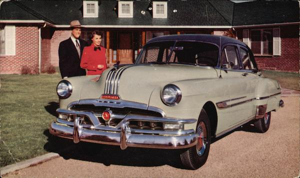 1950 Pontiac Chieftain Deluxe 4-Door Sedan Cars