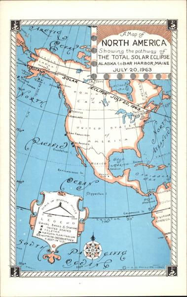 A Map of North America Maps