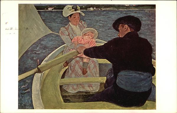 The Boating Party by Mary Cassatt First Day Issue Cards