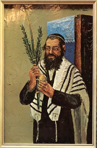 Rabbi by Morris Katz Judaica