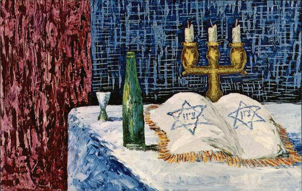 Kiddush by Morris Katz Art