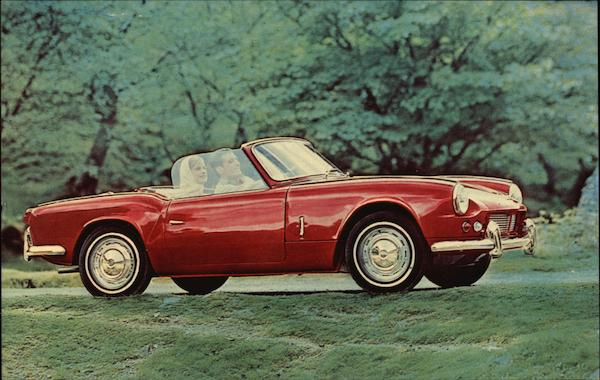 The Triumph Spitfire Cars