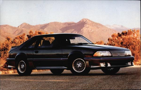 1987 Ford Mustang GT Modern (1970's to Present)
