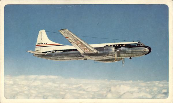 Mainliner Convairs, United Air Lines Aircraft