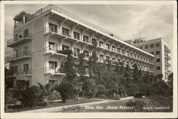 Soviet Hotel with Palm Trees