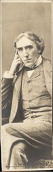 Sir Henry Irving - Bookmark Postcard
