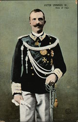 Victor Emanuel III - King of Italy