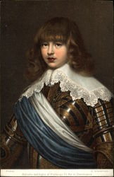 Portrait of the Son of King Frederick III of Denmark