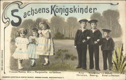 The King's Children - von Sachsen, Saxony