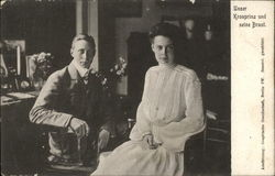 Crown Prince Wilhelm adn Princess Cecilie of Germany