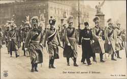 Kaiser Wilhelm II and His Six Sons
