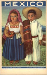 Children in Mexican Dress