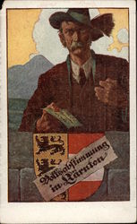 People's Plebiscite in Carinthia 1920.