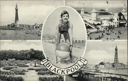 Greetings from Blackpool Postcard