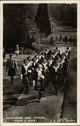 Dagenham Girl Pipers - Pipers and Trees