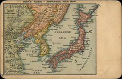 Russo-Japanese War Map