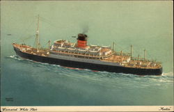 "Cunard White Star - ""Media"""
