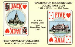 Washington Crossing Card Collectors Club