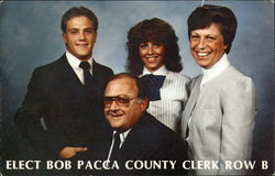 Elect Bob Pacca County Clerk Row B
