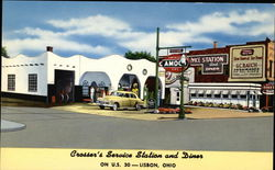 Crosser's Service Station and Diner