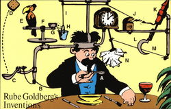 Rube Goldberg's Inventions First Day Cover