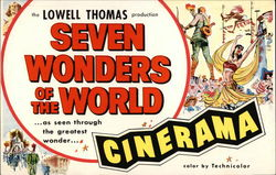 "The Lowell Thomas Production ""Seven Wonders of the World"""
