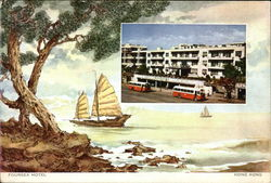 Foursea Hotel Postcard
