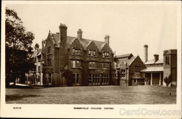 Somerville College Oxford England Oxfordshire