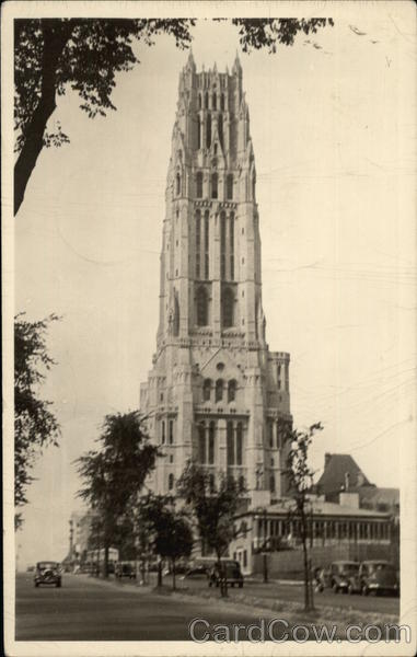 Riverside Church on Riverside Drive and 122nd Street New York