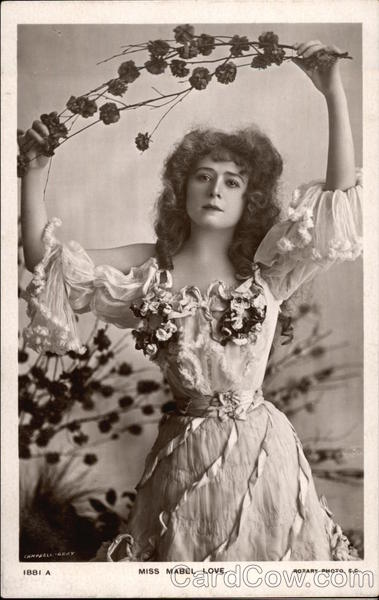 Photograph of Miss Mabel Love Actresses