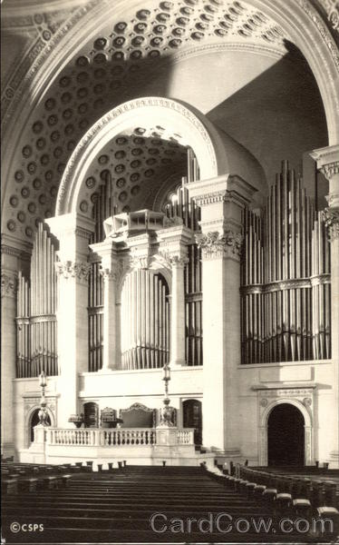 Platform and Organ, The First Church of Christ, Scientist Boston Massachusetts