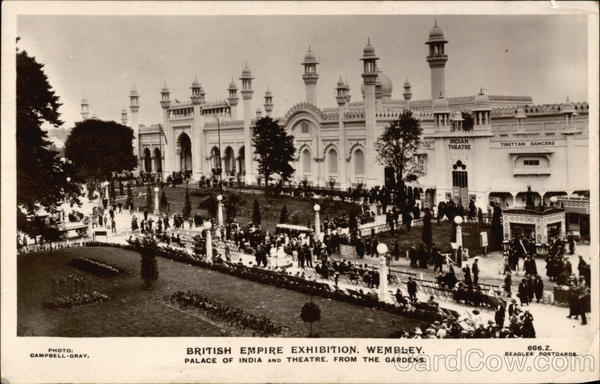 British Empire Exhibition, Wembley - Palace of India and Theatre