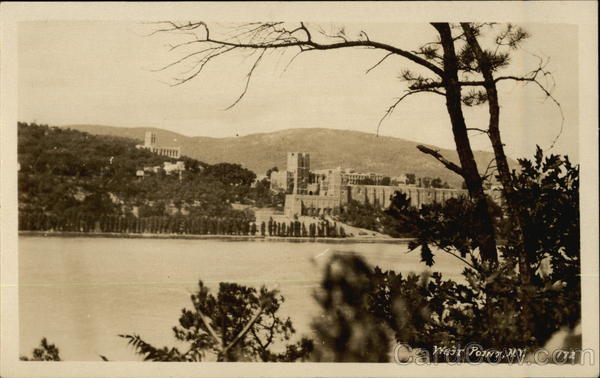 View of West Point across the Water New York