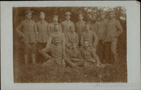 Portrait of German Soldiers Military
