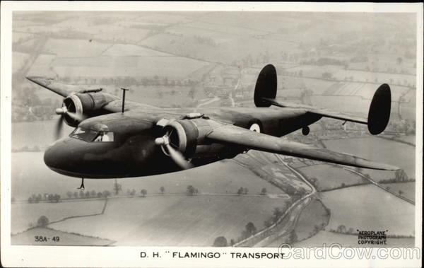 DH Flamingo Transport Aircraft